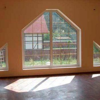 Нестандартные пластиковые окна.