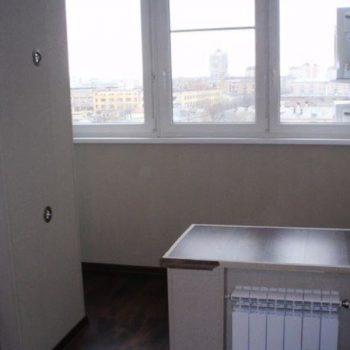 Объединение балкона с жилой комнатой.