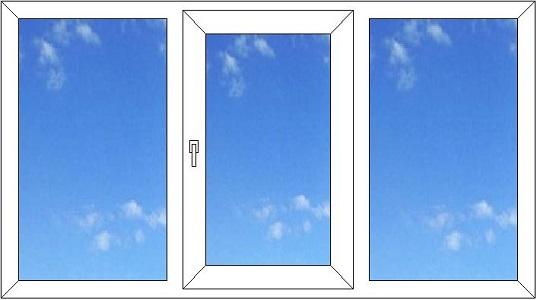 Окна бу, распродажа окон 3 створки. Окна на дачу. СТК Бэст предлагает купить пластиковые окна по низкой цене, отказные окна.