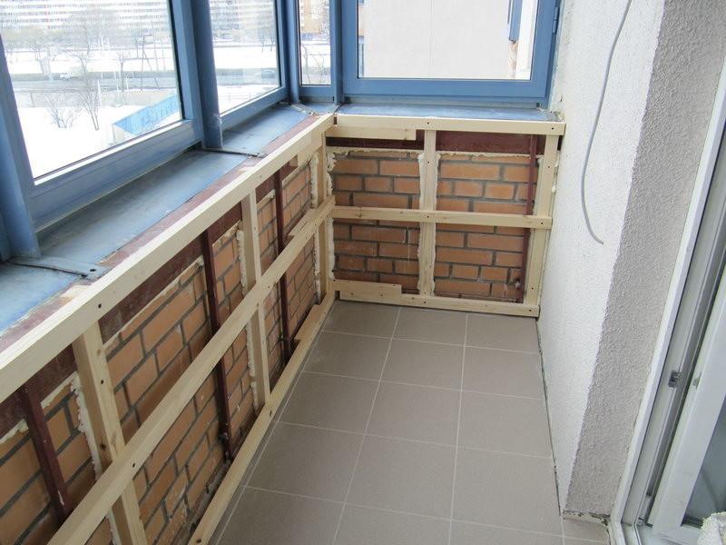 Как отделать балкон своими руками и утеплить