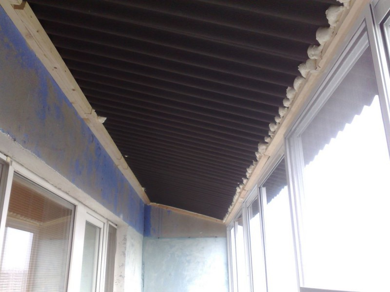 Крыша над балконом последнего этажа фото бэст..