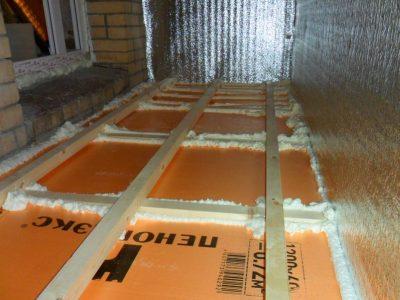 Утепление лоджии под ключ. Утепление балкона в Томске и остекление по ценам производителя. Утепление пеноплексом. Честная смета и гарантия.