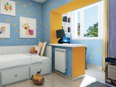 Объединение балкона с комнатой, детская, совмещенная с балконом. Объединение балкона под ключ, фото и цены. Современные решения перепланировки.