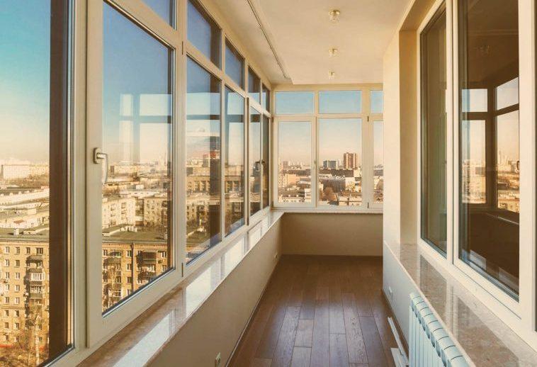 Остекление балконов Томск