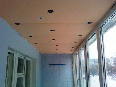 Утепление лоджии под ключ. Утепление балкона в Томске и остекление по ценам производителя. Утепление потолка.